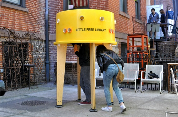 Little Free Library - Нью-Йорк